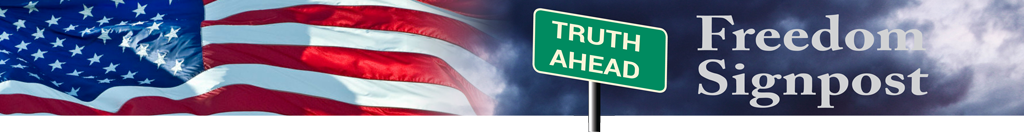 Freedom Signpost banner