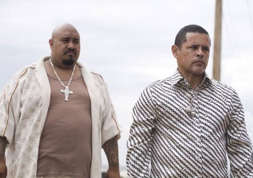 """Jesus Payan Jr. as """"Gonzo"""" in Breaking Bad. Source: http://ecx.images-amazon.com/images/I/51LLGaANyEL.jpg"""