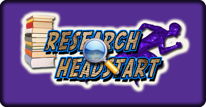 Research Headstart (Design by: Eric Hepperle (c) 2012)