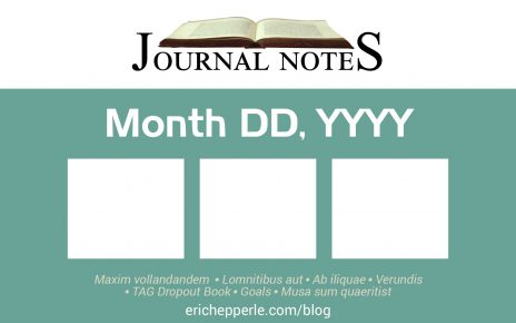 Design by: Eric Hepperle Date Created: 2021-07-29 Basic blog post thumbnail for my journal posts. If I don't have time to make a custom design, at least this will identify it as a journal post.