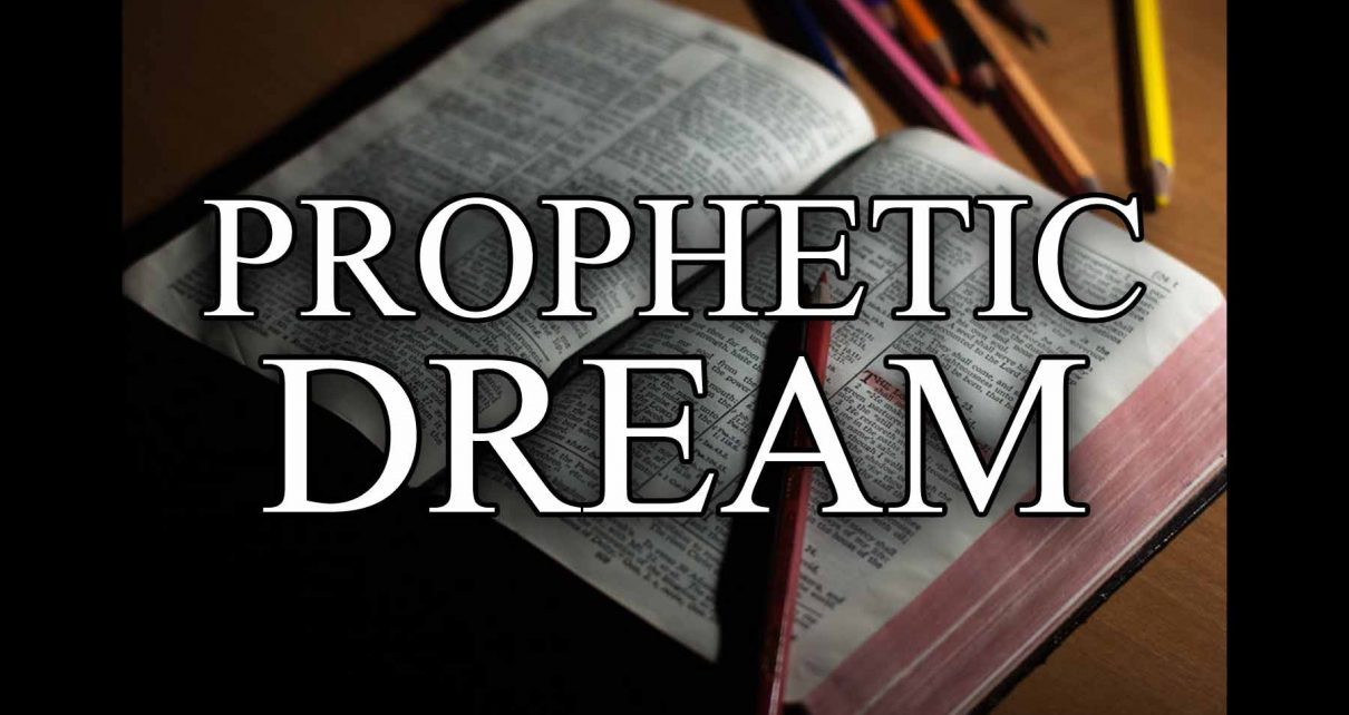 Blog Thumbnail: Prophetic Dream in front of Bible (Copyright Eric Hepperle, 2021)